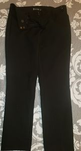 Black New York and Company skinny ankle pants